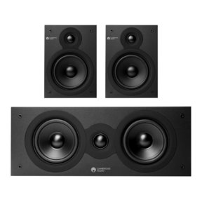 SX 3.0 Home Theater Speaker Bundle (Black)