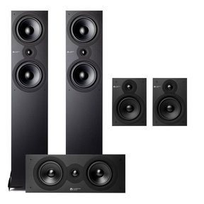 SX 5.0 Home Theater Speaker Package (Black)