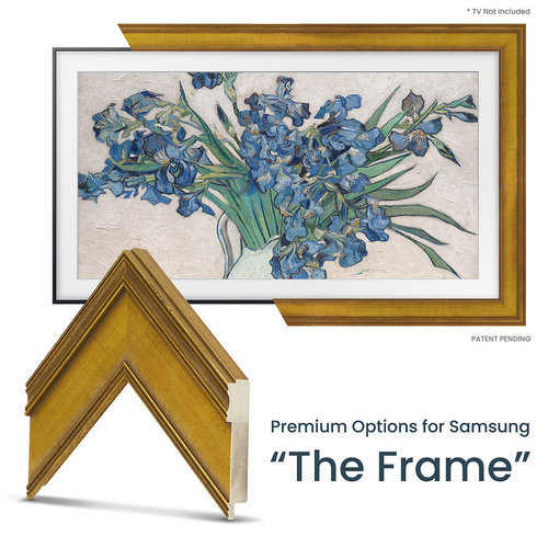 """View Larger Image of Customizable Frame for Samsung The Frame 2021 43"""" TV"""