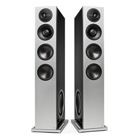 "Demand Series D17 High-Performance Floorstanding Speakers with Dual 10"" Passive Bass Radiators - Pair"