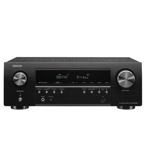 View Larger Image of AVR-S540BT 5.2 Channel 4K Ultra HD AV Receiver with Bluetooth (Factory Certified Refurbished)