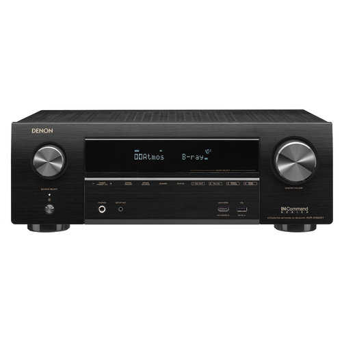 View Larger Image of AVR-X1600H 7.2-Channel 4K Ultra HD AV Receiver with 3D Audio and HEOS Built-In