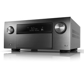 AVRA110GS Limited Series 110-Year Anniversary Edition 13.2Ch 8K AV Receiver w/ 3D Audio, HEOS® Built-in and Voice Control (Factory Certified Refurbished, Silver Graphite)