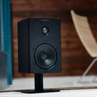 View Larger Image of Xeo 2 Wireless Bookshelf Speakers and U-Turn Orbit Plus Turntable with Built-In Preamplifier