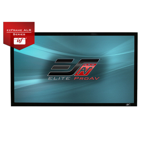 """View Larger Image of ezFrame CineGrey 5D 180"""" Projector Screen"""
