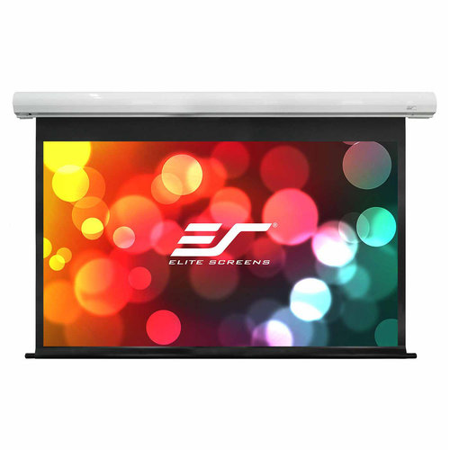 "View Larger Image of SK135XHW-E18 135"" Diagonal Saker Series Projector Screen (White)"