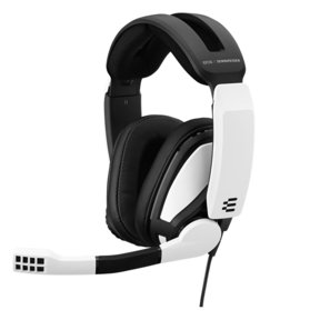 GSP 301 Closed Acoustic Gaming Headset (White)
