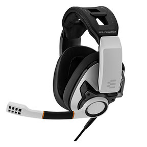 GSP 601 Closed Acoustic Gaming Headset (White)