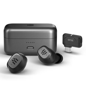 GTW 270 Hybrid True Wireless Closed Gaming Earbuds with USB-C Dongle
