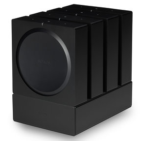 Dock for 4 Sonos AMPs (Black)