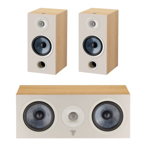 View Larger Image of Chora 3.0 Channel Home Theater Speaker Bundle (Light Wood)