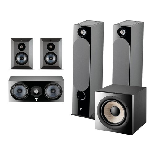 View Larger Image of Chora 5.1.2 Surround Sound Speaker Package with Built-In Dolby Atmos Modules and On-Wall Surround Speakers (Black)
