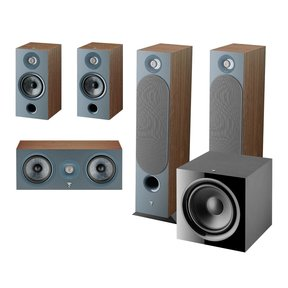 Chora 5.1 Channel Home Theater System (Dark Wood)