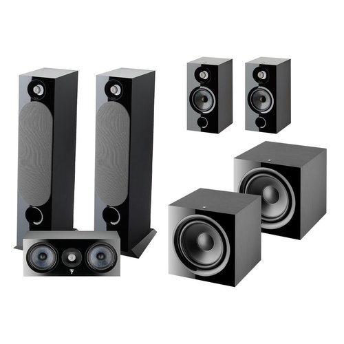 View Larger Image of Chora 5.2 Channel Home Theater System (Black)