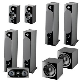 Chora 7.2.4 Channel Dolby Atmos Home Theater System (Black)