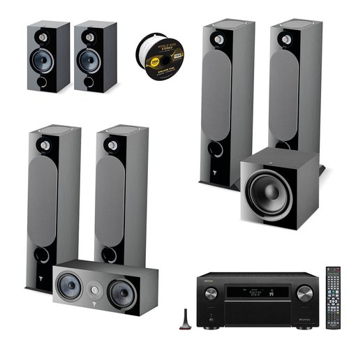 View Larger Image of Chora 7.2.4 Channel Dolby Atmos Home Theater System with Denon AVR-X8500HA 3.2ch 8K AV Receiver and World Wide Stereo 14-Gauge, 2-Conductor Speaker Wire - 250 Feet