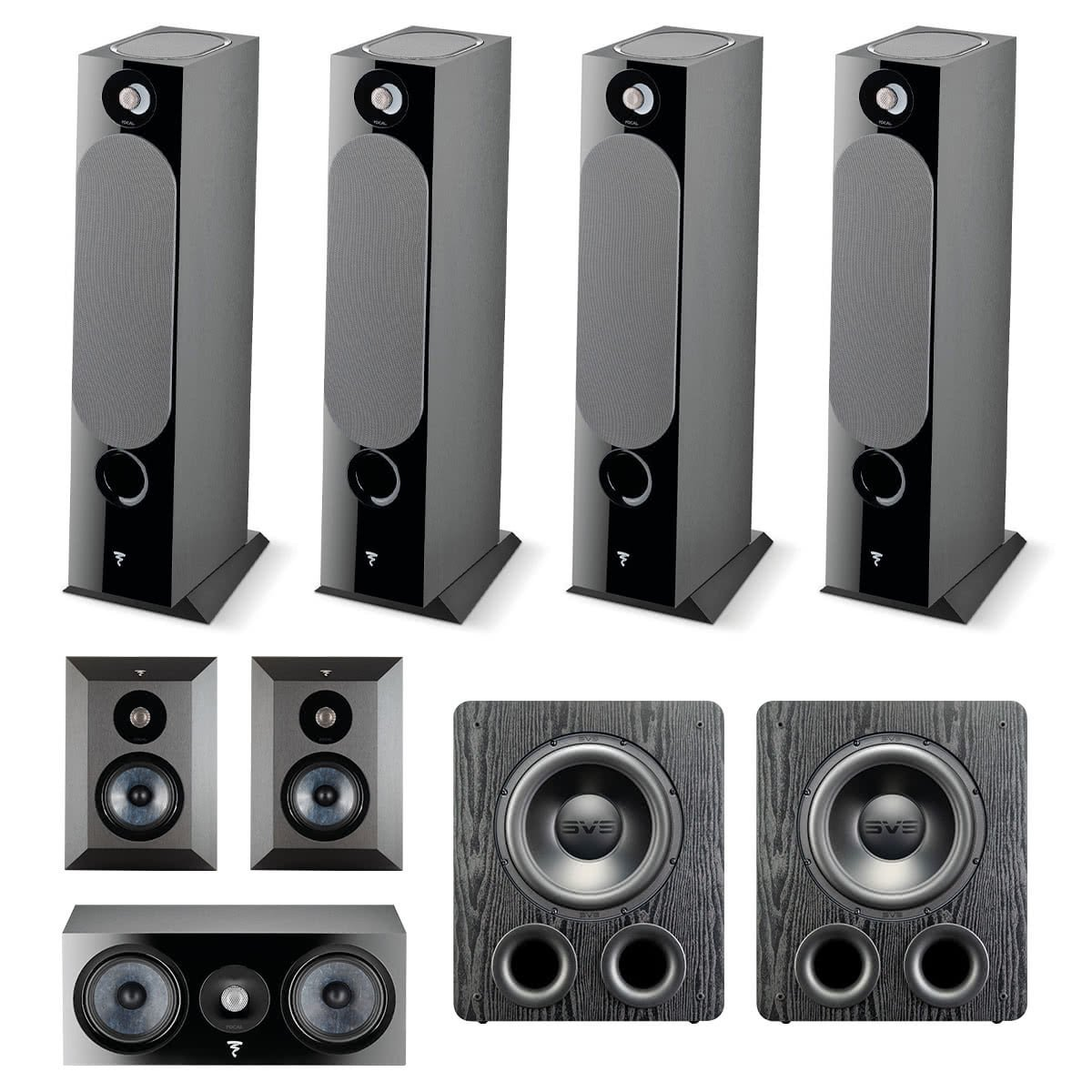 Focal Chora 7 2 4 Dolby Atmos Home Theater System World Wide Stereo