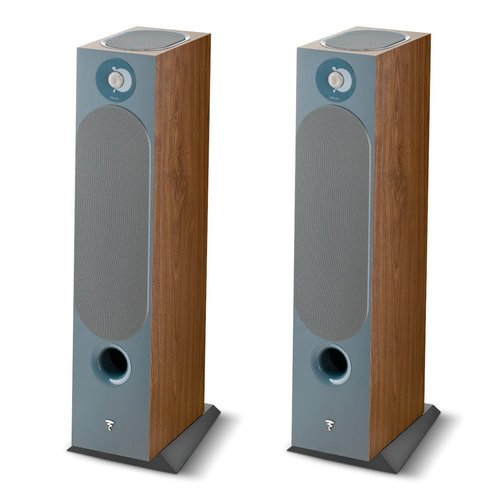 View Larger Image of Chora 826-D Floorstanding Speakers with Built-In Dolby Atmos Modules - Pair (Dark Wood)