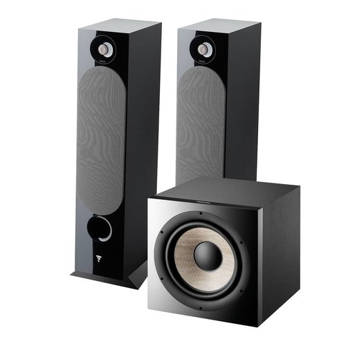 View Larger Image of Chora 826 Floor Standing Speakers with Sub 1000 F High Power Subwoofer (Black)