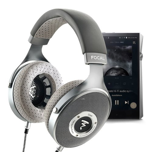 View Larger Image of CLEAR Over-Ear Audiophile Headphones with A&K SP2000 Octa-core Portable Music Player (Stainelss Steel)