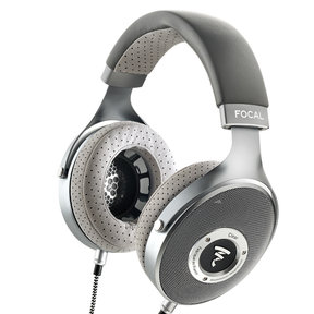 CLEAR Open-Back Over-Ear High-Resolution Audiophile Headphones (Gray)