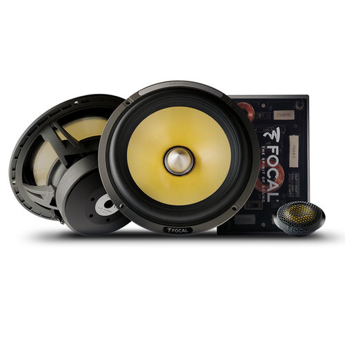"""View Larger Image of ES 165 K2 6-1/2"""" K2 Power 2-Way 2-Ohm Component Speakers"""