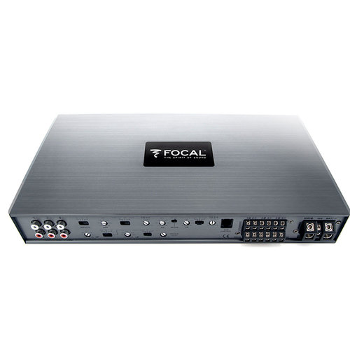 View Larger Image of FDP 6.900 150 Watts x 6 Class D 6-Channel Amplifier