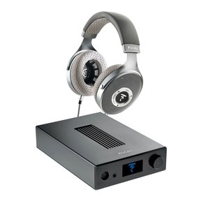 Clear Over-Ear Headphones with Arche DAC and Headphone Amp