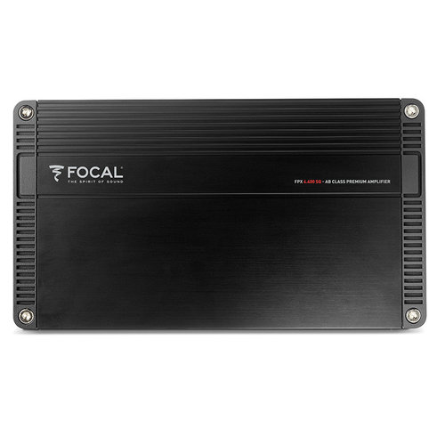 View Larger Image of FPX 4.400SQ 70 Watts x 4 Compact Class AB 4-Channel Amplifier