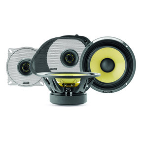 "HDK 165-98/2013 6-1/2"" 2-Way Kevlar Component Speaker System for Select Harley Davidson Motorcycles"