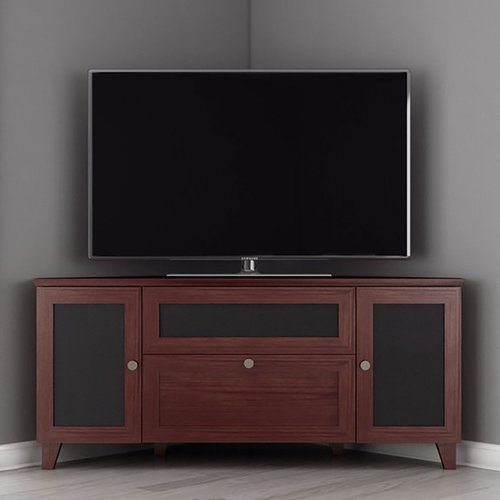 """View Larger Image of 61"""" FT61SCCDC TV Stand Media Console (Dark Cherry)"""