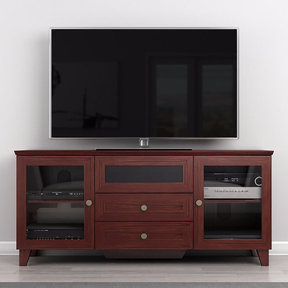 "61"" FT61SCDC TV Stand Media Console (Dark Cherry)"