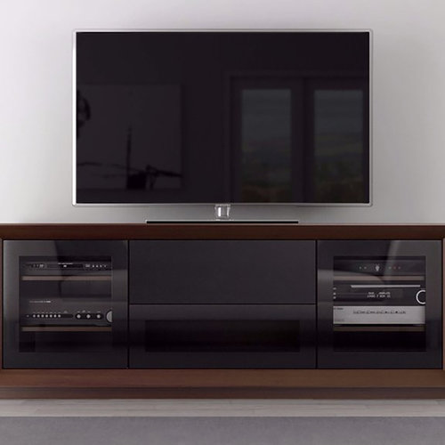 """View Larger Image of 70"""" FT70CF TV Stand Media Console (Walnut)"""