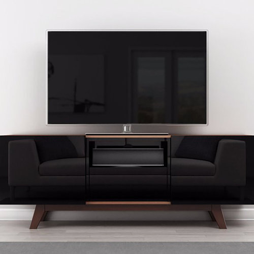 """View Larger Image of 70"""" FT70RBL TV Stand Media Console (Brazilian Cherry)"""