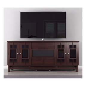 """70"""" FT72ACW TV Stand Media Console (Asian Wenge)"""