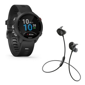 Forerunner 245 Music GPS Smartwatch with Bose SoundSport Wireless Earbuds