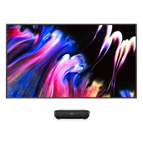 """L9G TriChroma 100"""" Laser TV with 100"""" ALR Projector Screen"""