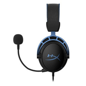 Cloud Alpha S Over-Ear Gaming Headphones (Factory Certified Refurbished, Blue)
