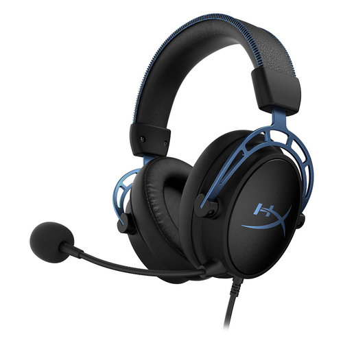 View Larger Image of Cloud Alpha S Over-Ear Gaming Headphones (Factory Certified Refurbished, Blue)