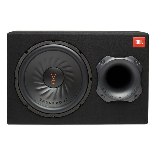 """View Larger Image of BassPro 12 Car Audio Powered 12"""" Subwoofer System with Slipstream Port Technology"""
