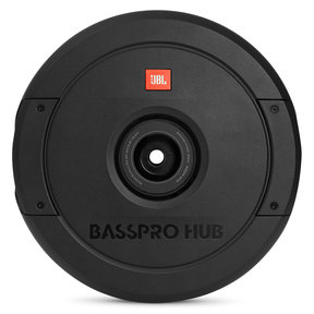 "BassPro Hub 11"" Spare Tire Subwoofer w/ Enclosure and Built-In Amplifier"