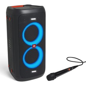 PartyBox 100 Bluetooth Portable Party Speaker with Wired Dynamic Vocal Mic