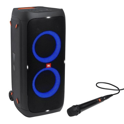 View Larger Image of PartyBox 310 Bluetooth Portable Party Speaker with Wired Dynamic Vocal Mic