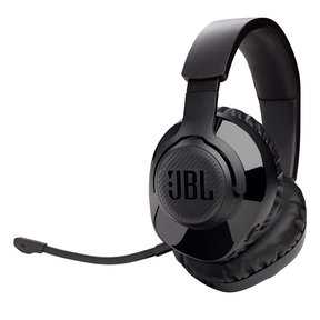 Quantum 350 Wireless Over-Ear PC Gaming Headset with Detachable Boom Mic (Black)