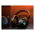 View Larger Image of Quantum 400 Over-Ear USB Gaming Headphones (Black)