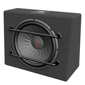 """Stage 1200S Compact 12"""" 2-Ohm Subwoofer Enclosure"""