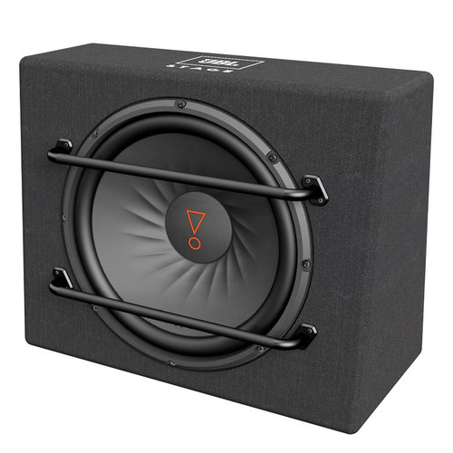 """View Larger Image of Stage 1200S Compact 12"""" 2-Ohm Subwoofer Enclosure"""