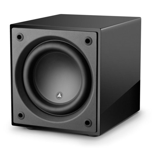 """View Larger Image of Dominion d110 10"""" Powered Subwoofer (Black Gloss)"""