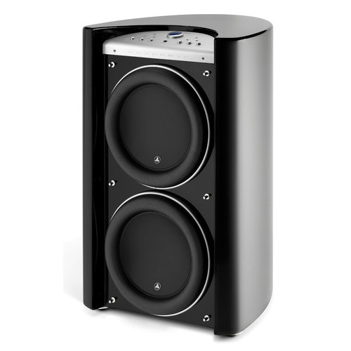"""View Larger Image of Gotham V2 Dual 13.5"""" Powered Subwoofer (Black Gloss)"""