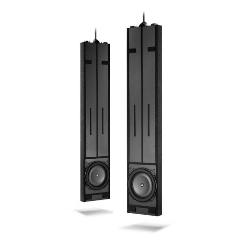 View Larger Image of IWSv2-SYS-213 Fathom Dual 13.5-inch In-Wall Powered Subwoofer System